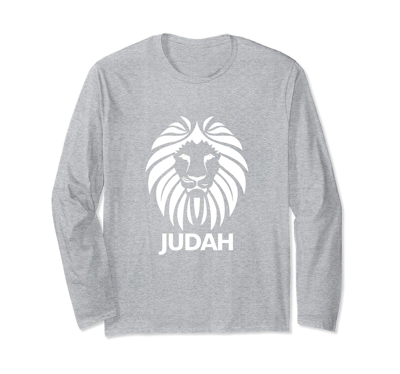 9925311f97 Amazon.com: Hebrew Israelite Long Sleeve T Shirt Lion Of Judah Clothing:  Clothing