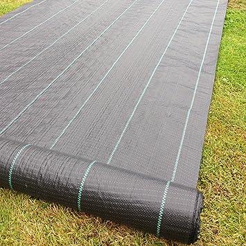 1m X 50m Tissu des mauvaises herbes, la couverture du sol, la membrane de  jardin 100gsm
