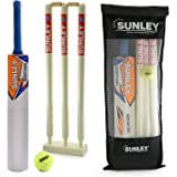 Sunley Wooden Cricket Kit Combo