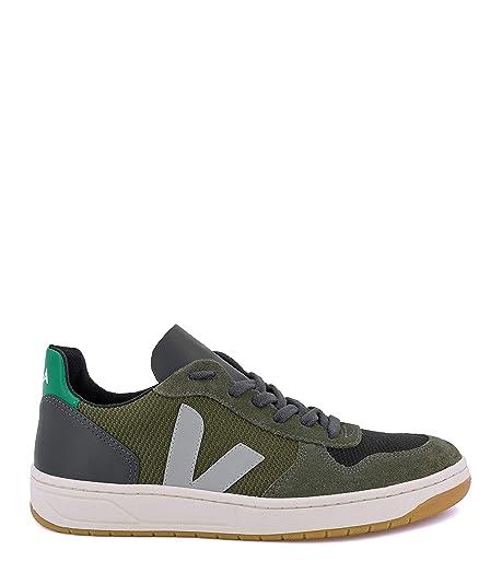 VEJA V-10 B Mesh Multico Olive Emeraude: Amazon.es: Zapatos y complementos