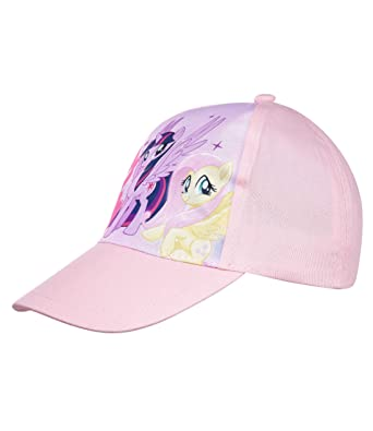 3adc184e My Little Pony Girls Baseball cap - pink: Amazon.co.uk: Clothing