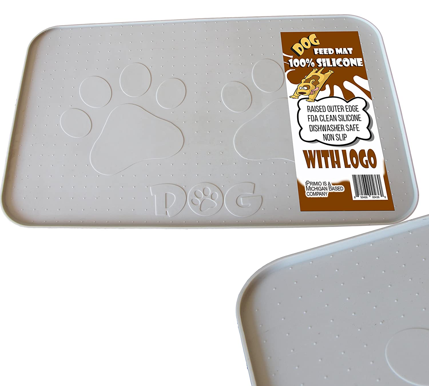 dog slip feeding mat tail products non circle dogs dogstailcircle paw mats