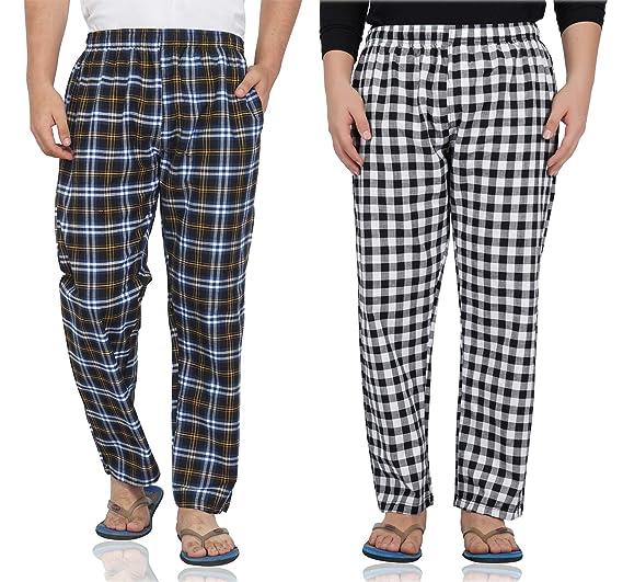Cotton Sleepwear Lounge Wear Pyjama Shorts BRANDBUYS Mens Mens Two Pack Shorts