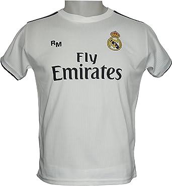 Real Madrid 2018 19 T Offizielle Erste Replik Junior Ab9184 Amazon De Bekleidung