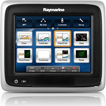 Raymarine a65 Multifunction Display - Electrónica náutica (Radio), Color Negro, Talla UK: 5.7 Inch: Amazon.es: Deportes y aire libre