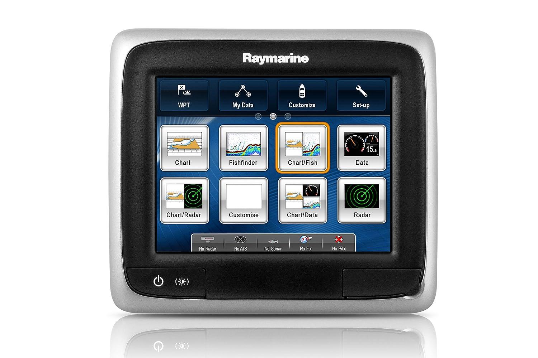 Raymarine a65 Multifunction Display - Electrónica náutica (Radio), Color Negro, Talla UK: 5.7 Inch