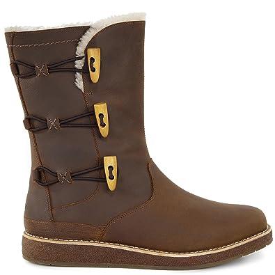 UGG Women's Kaya Chocolate Boot 5.5 B ...