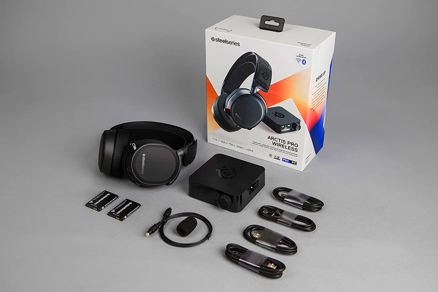 Steelseries Arctis Pro Wireless Gaming Headset Headphone Wiring Colors Free Engine Image For User Manual Lossless High Fidelity Bluetooth Ps4 And Pc Playstation 4 Video Games