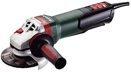 Metabo – 5 Angle Grinder – 11, 000 Rpm – 14.5 Amps w Brake, Non-Lock Paddle, Auto-Balancer, Electronics 600548420 17-125 Quick , Professional Angle Grinders