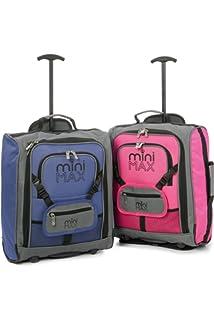 Minimax Equipaje Infantil niños Cabina de Equipaje Maleta Trolley con la Mochila y la Bolsa para