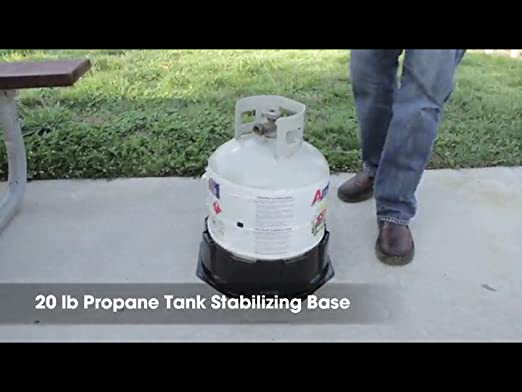 Amazon.com: Camco 57236 Cylinder Stabilizing Base For 20 Lbs And 30 Lbs Propane  Tank: Automotive
