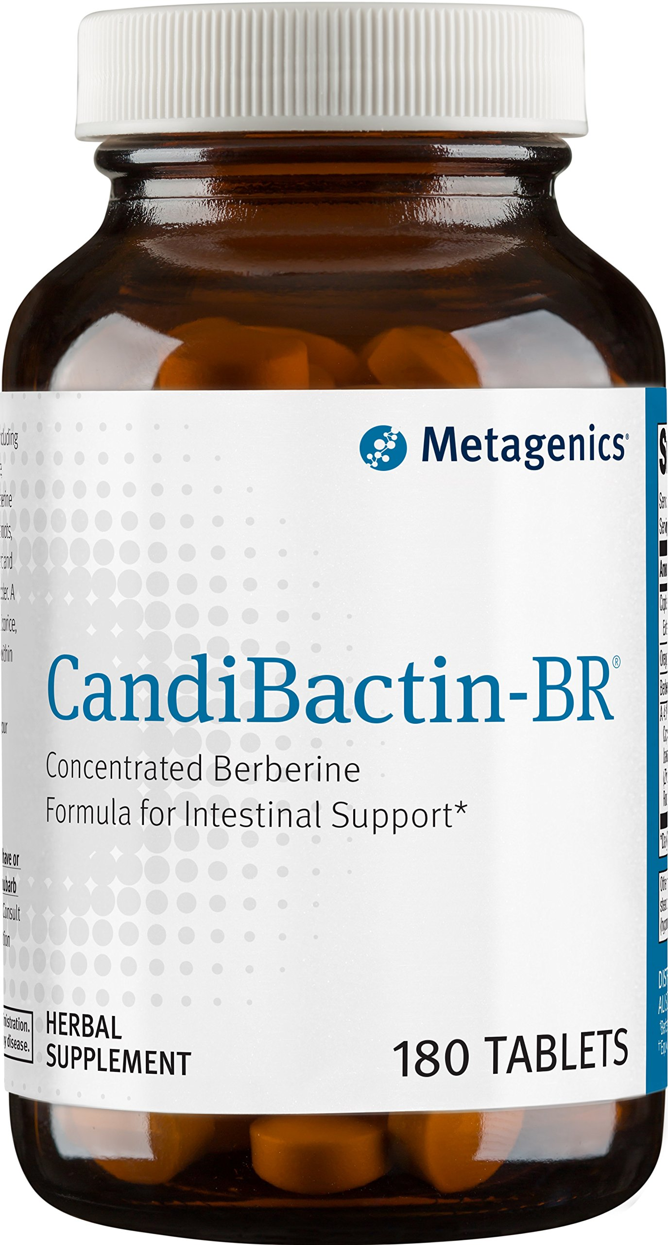 Metagenics CandiBactin-BR® – Concentrated Berberine Formula for Intestinal Support * | 180 count