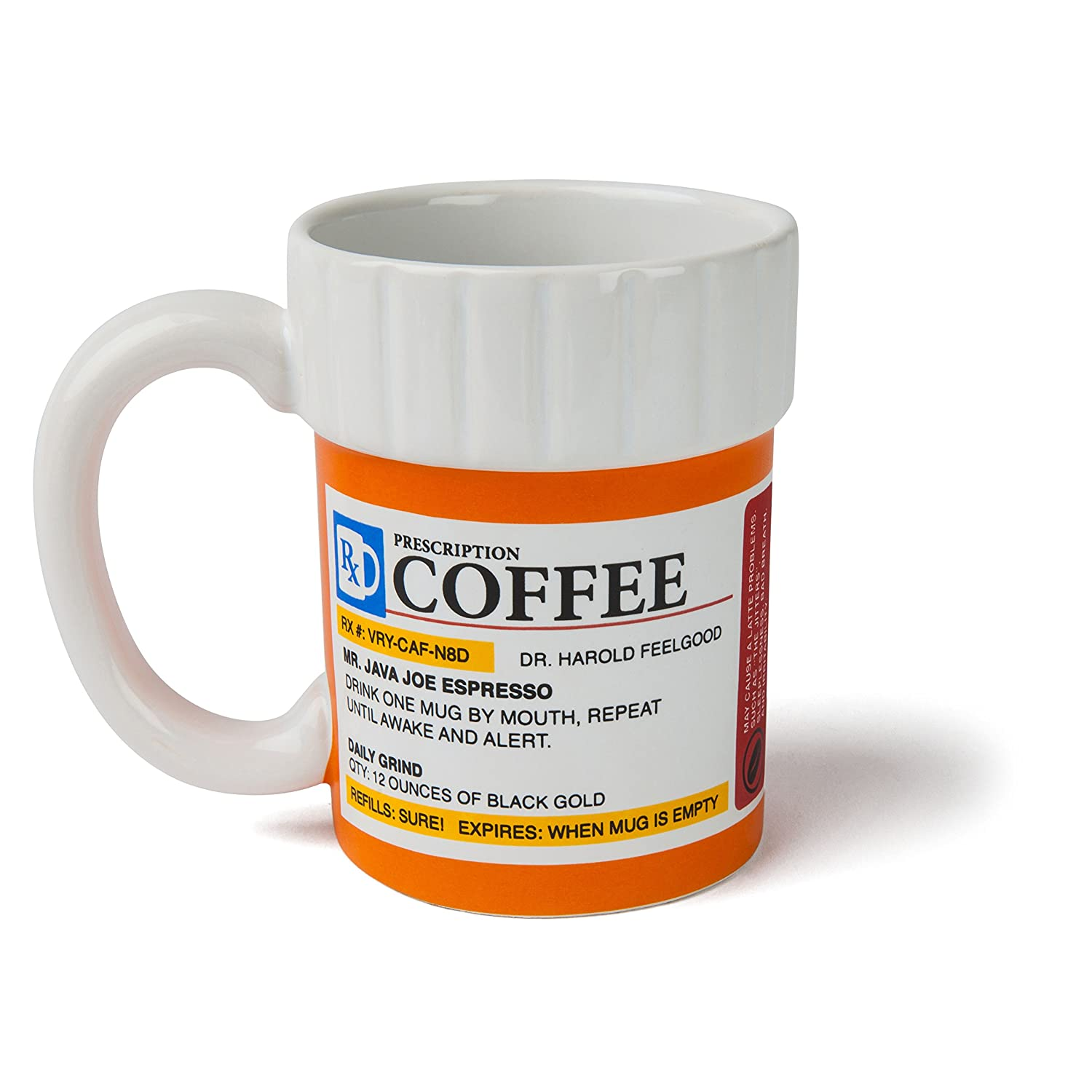Coffee cup you can smoke out of - Bigmouth Inc The Original Prescription Mug