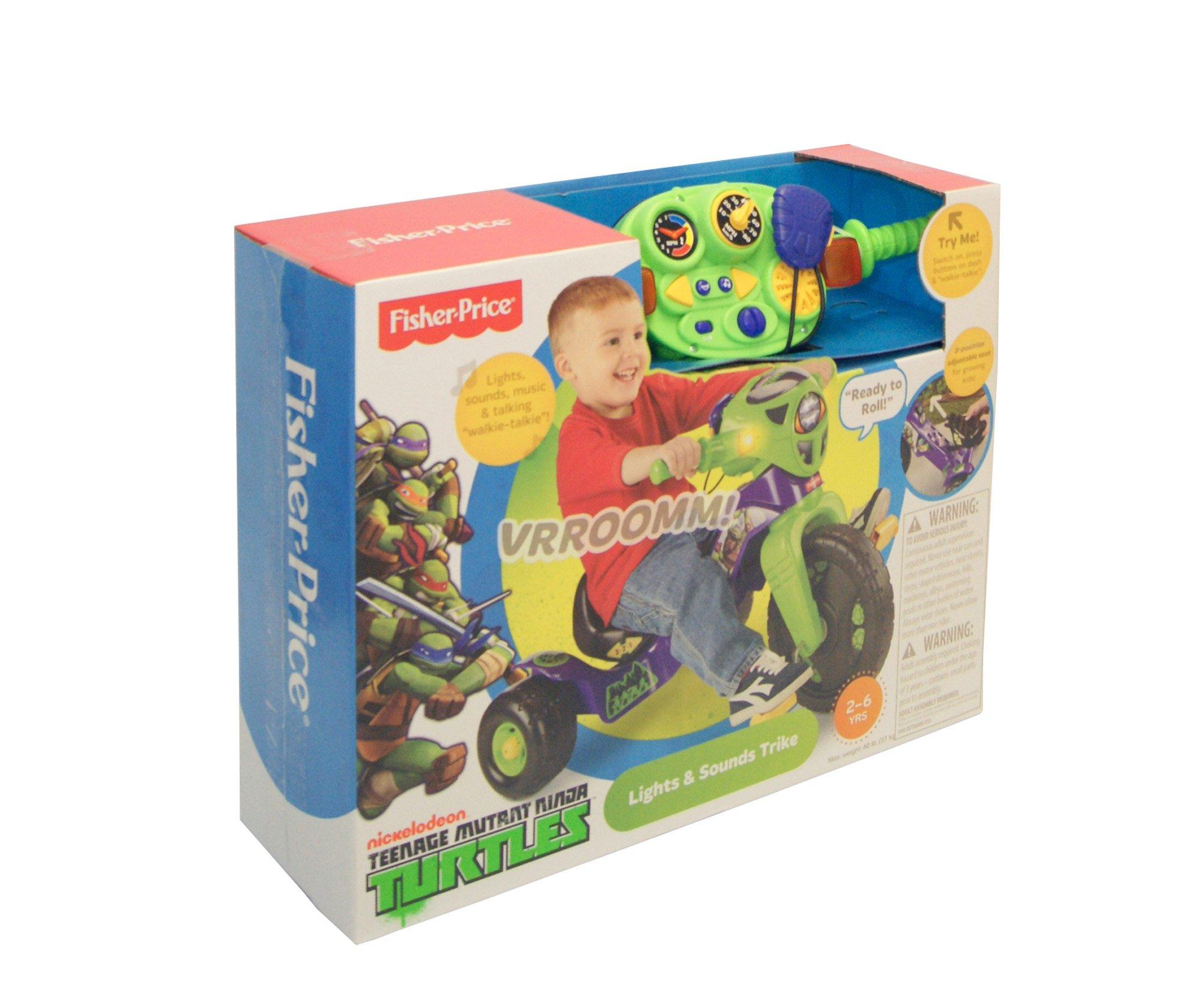 Fisher-Price Nickelodeon Teenage Mutant Ninja Turtles Lights & Sounds Trike by Fisher-Price