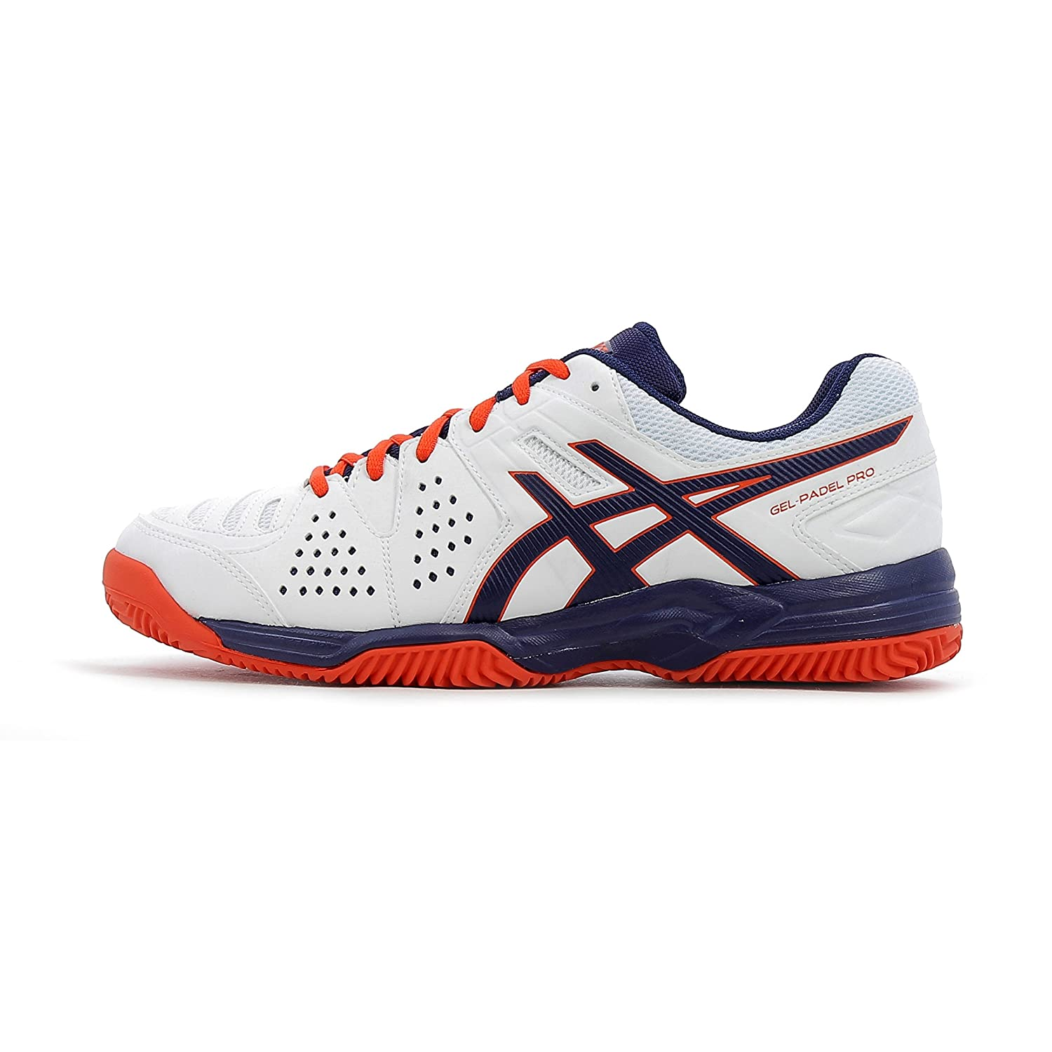 09d509fff6 ASICS GEL PADEL PRO 3 SG WHITE RED 2017: Amazon.co.uk: Sports & Outdoors