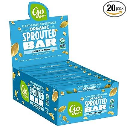 Go Raw Superfood Bars, caja de 20 barras grandes ...