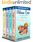 Pelican Cove Cozy Mystery Series Box Set 2: Books 5-8 in Pelican Cove Cozy Mysteries
