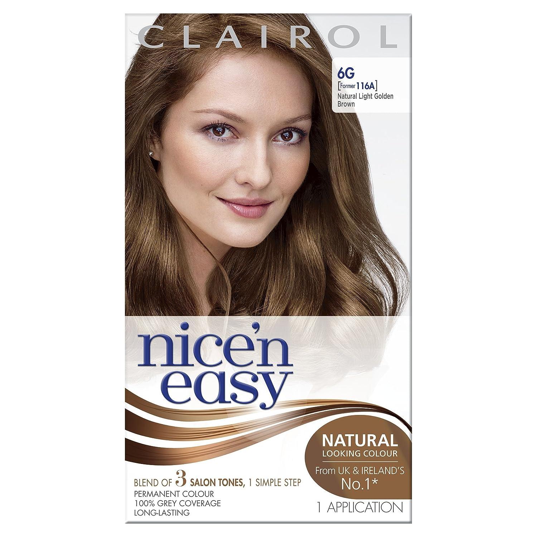 Clairol Nicen Easy Permanent Hair Dye 103b8cb Natural Medium
