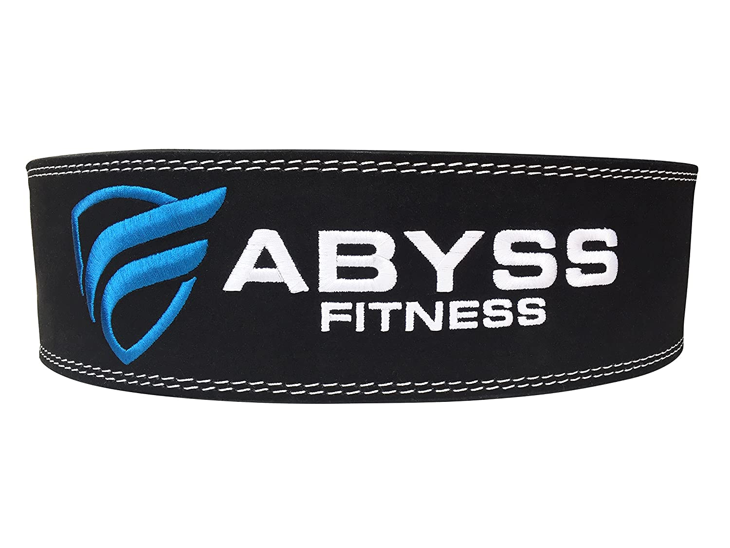 ABYSS FITNESS Genuine Leather Pro Weightlifting Belt for Men and Women Durable Comfortable Adjustable with Buckle Stabilizing Lower Back Support for Weightlifting 10 mm Powerlifting Belt