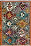 Noori Rug N6847 Sangat Kilim Eveline Handmade Area