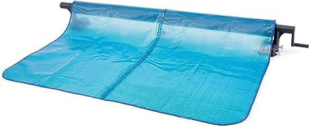 Intex 28051 - Enrollador de Cobertor solar para piscinas cuadradas o rectangulares
