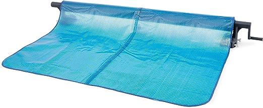 Intex 28051 - Enrollador de Cobertor solar para piscinas cuadradas ...