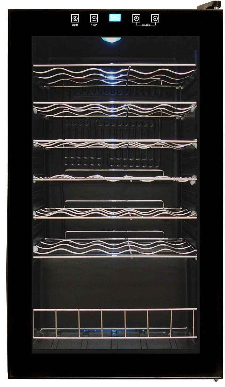 Vinotemp 34-Bottle Touch Screen Wine Cooler