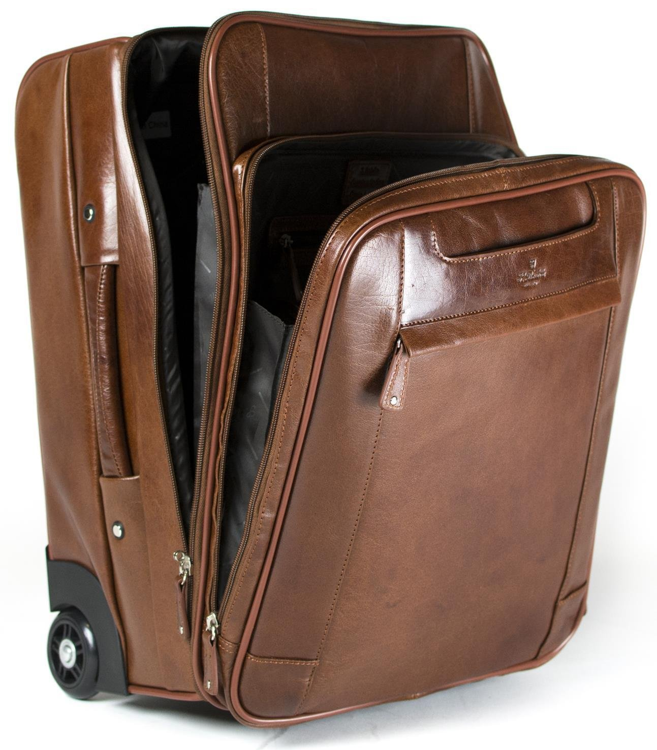 b9c7528d9687 Genuine Leather Laptop Trolley Bag- Fenix Toulouse Handball