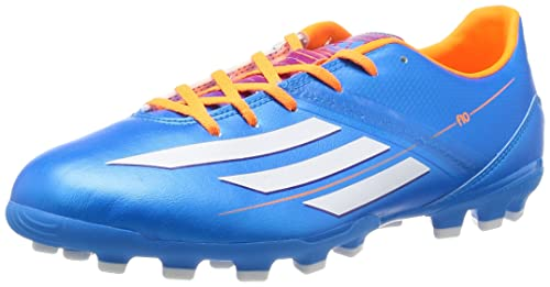 Adidas F10 Trx Fg Zapatos De Futbol, Silber/Rot, 38 2/3