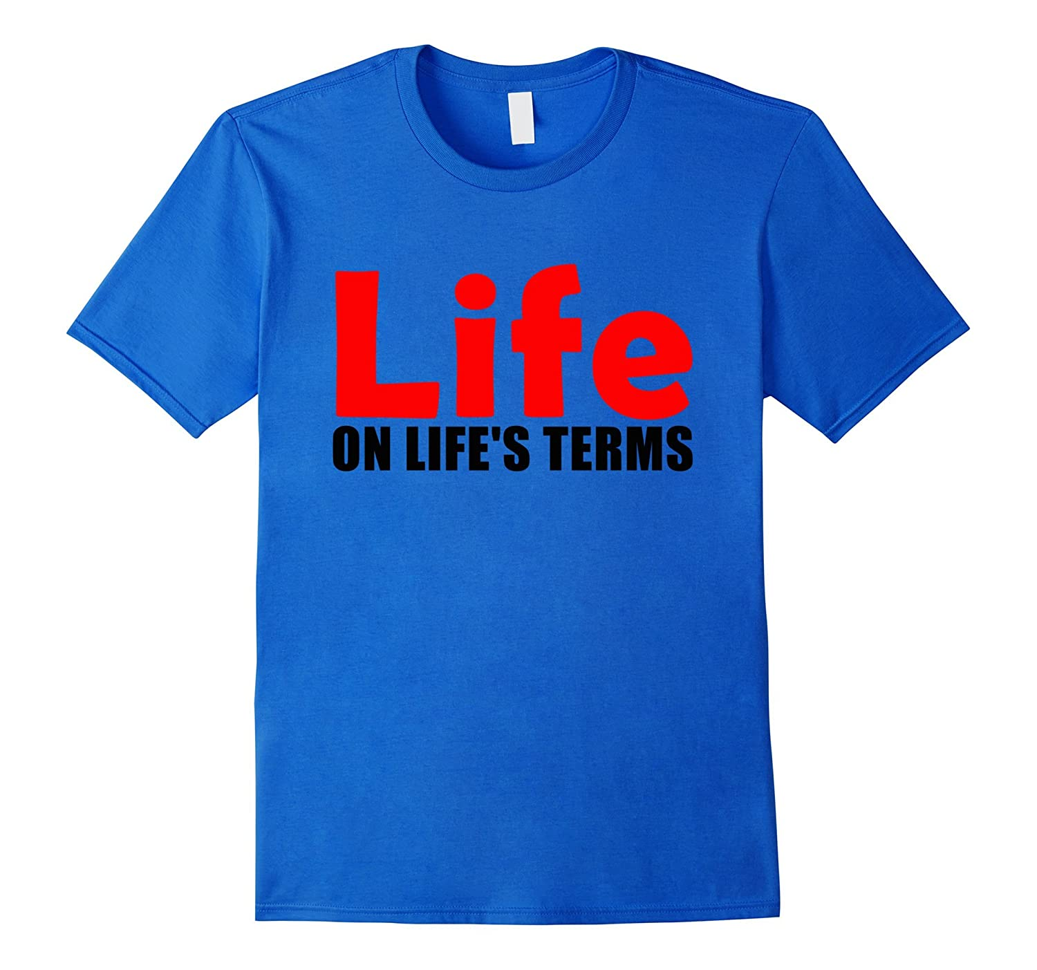 Life on Life's Terms Celebrate Recovery T Shirt Rehab NA AA-TH