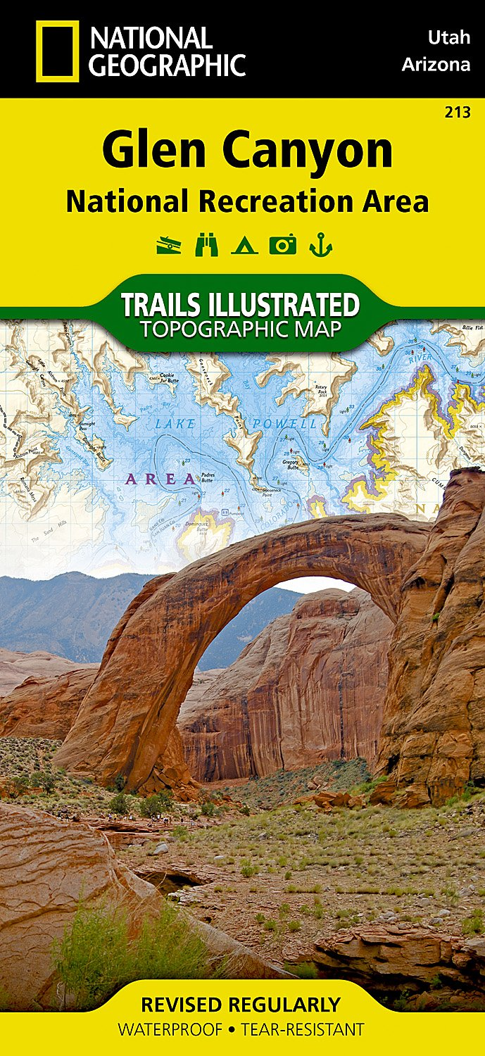 Glen Canyon / Capitol Reef: National Geographic Trails Illustrated Utah (National Geographic Trails Illustrated Map, Band 213)