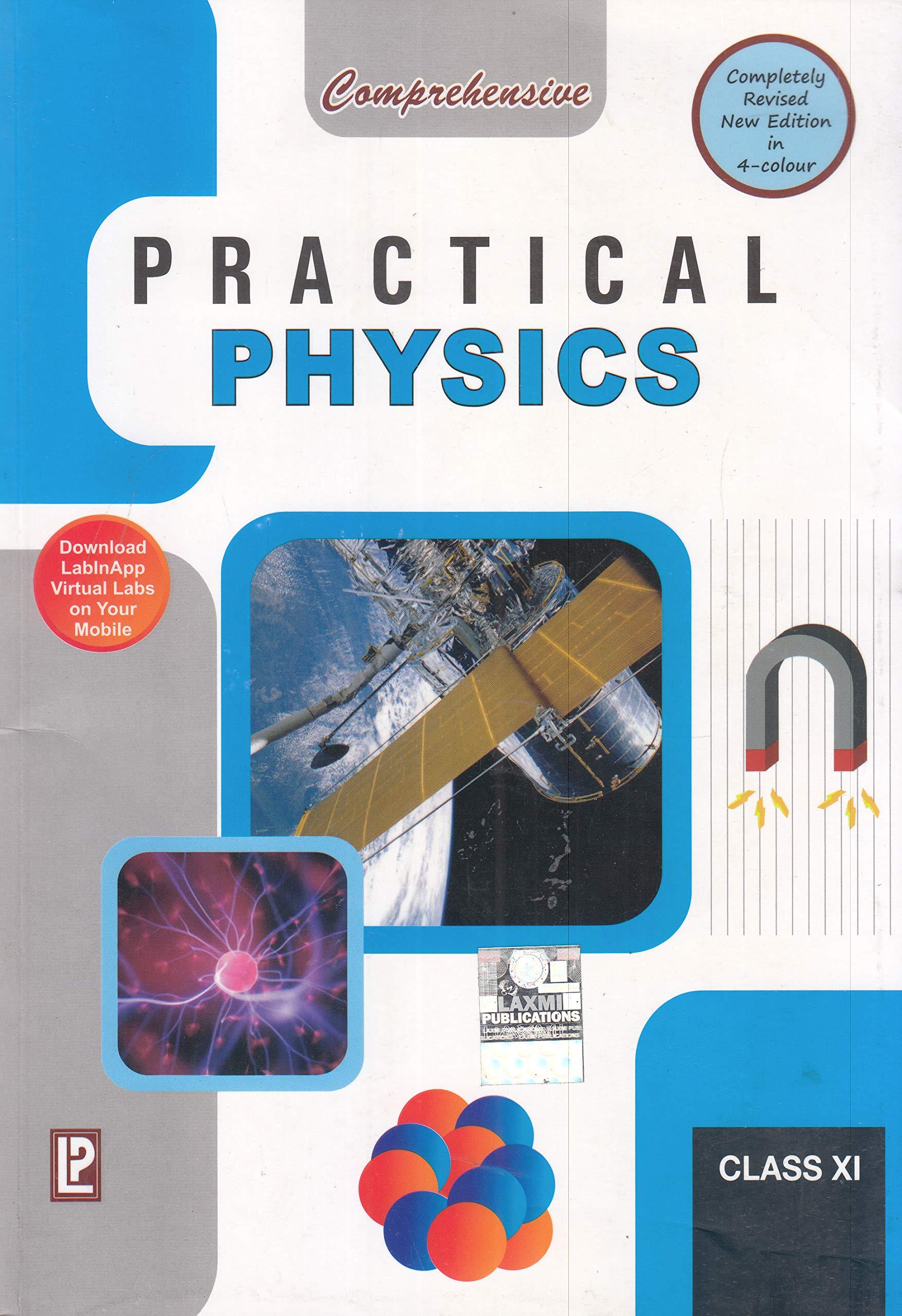 Buy Comprehensive Practical Physics XI (2019 Examination