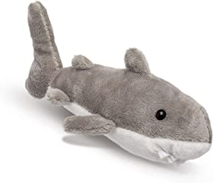 Wildlife Tree Single Great White Shark Mini 4 Inch Small Stuffed Animal, Ocean Toys, Party Favors for Kids
