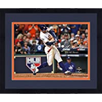 """$322 » Framed George Springer Houston Astros 2017 MLB World Series Champions Autographed 16"""" x 20"""" Photograph with""""2017 WS Champs"""" Inscription - Fanatics Authentic Certified"""