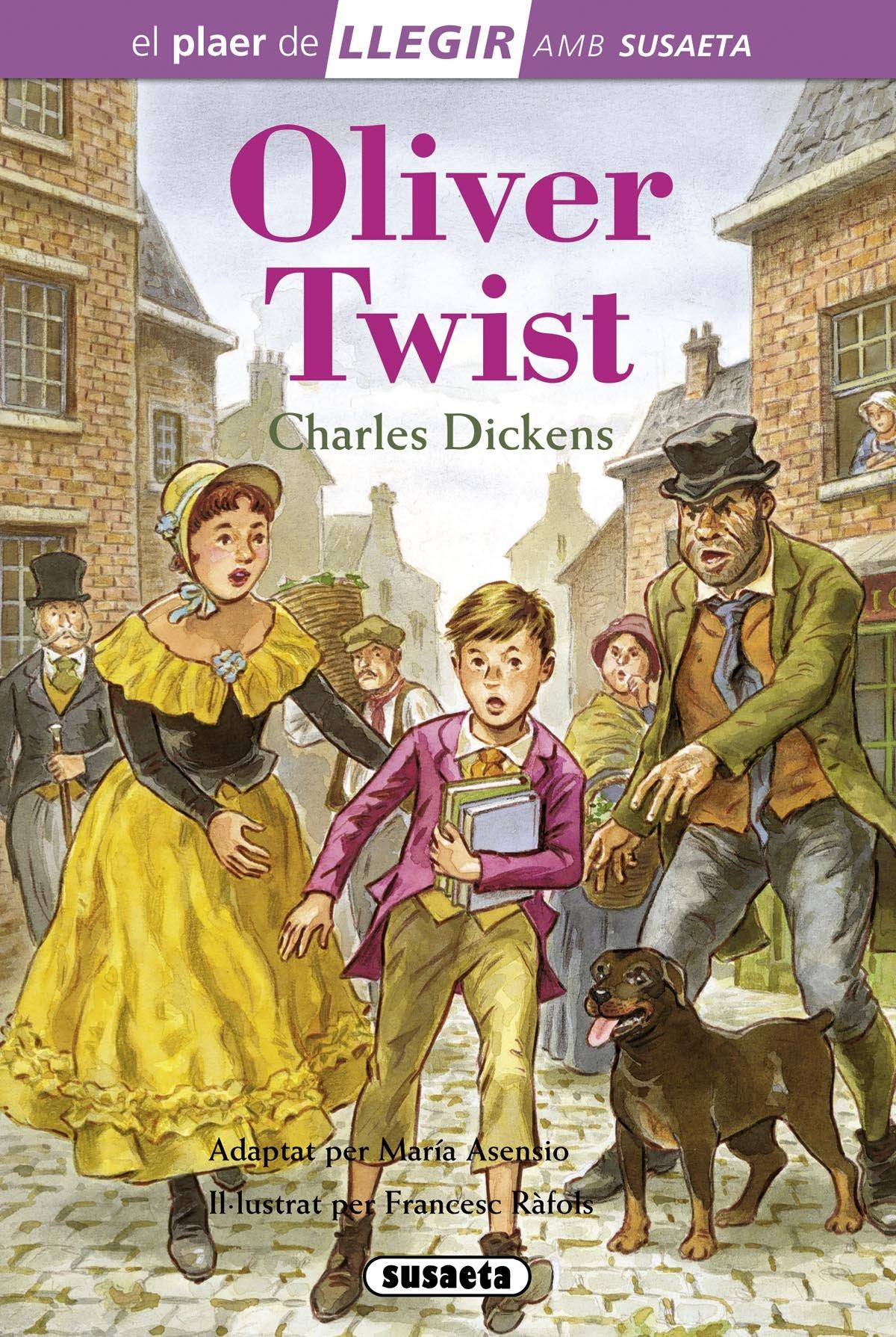 Oliver Twist (Llegir amb Susaeta - nivel 4)