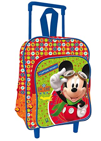 Mickey Mouse Mochila con carro infantil (Fantasy DS3927/AS7139)