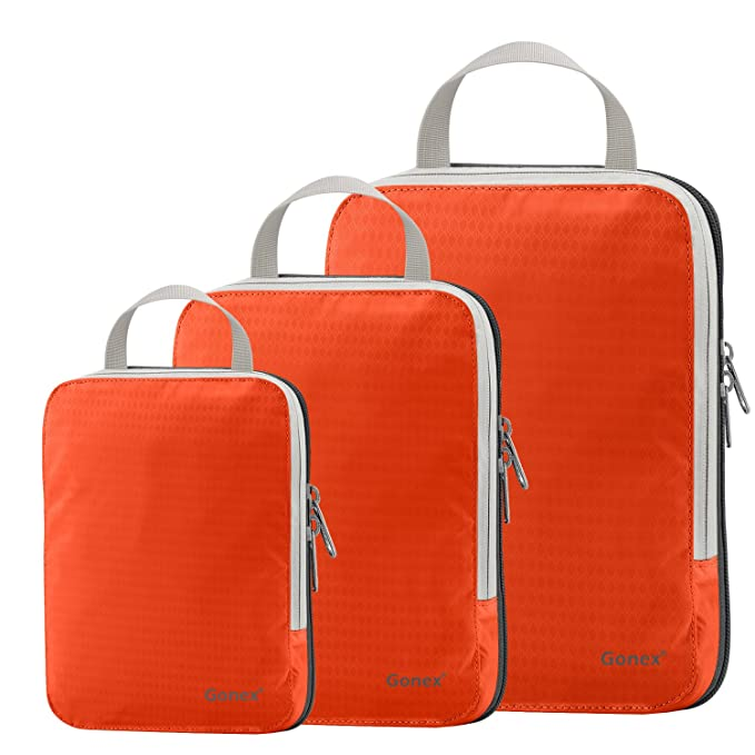 df30416e5709 Amazon.com  Set of 3 Gonex Packing Cubes
