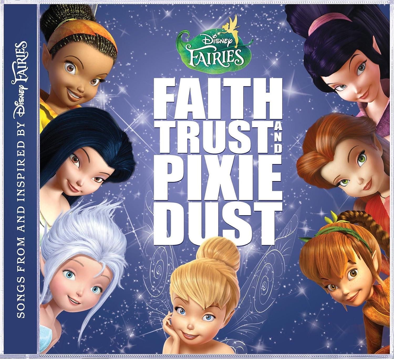 Faith Trust&Pixie DustのCDジャケットのティンカー・ベル