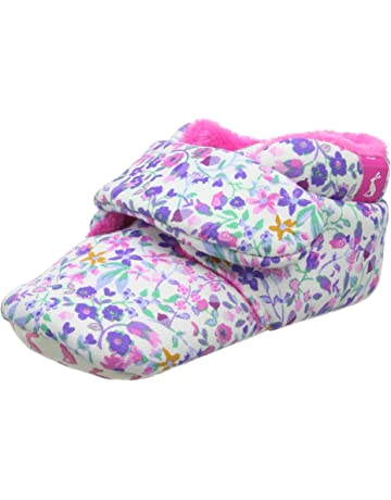 2068efe4a52 Joules Baby Girls  Babyshuffleg Slippers
