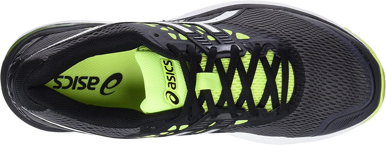 Asics Gel-Pulse 9, Zapatillas de Running para Hombre, Gris (Carbon/Silver/Safety Yellow 9793), 47 EU: MainApps: Amazon.es: Zapatos y complementos