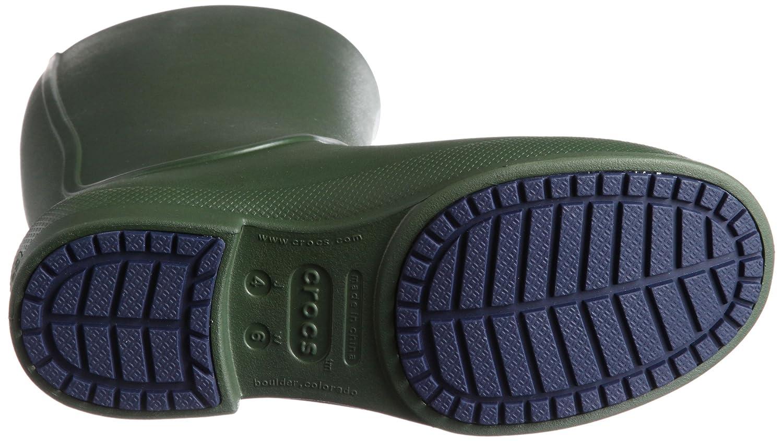 Crocs Womens Wellie Waterproof Rain Boot Shoes