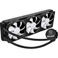Thermaltake Water 3.0 Ultimate 360mm AIO Enthusiast Liquid Cooling System CPU Cooler CL-W007-PL12BL-A