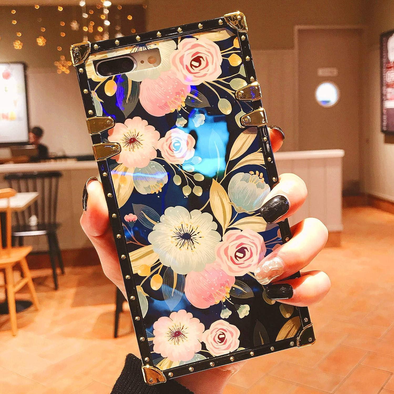 Logee Vivid Flower Case for iPhone 7 Plus / 8 Plus 5.5