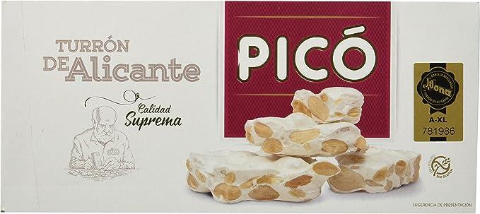 Pico Turrón Alicante - 200 gr: Amazon.es: Alimentación y bebidas