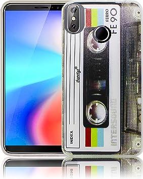 thematys® Cubot J3 Pro Cassette Retro Funda de Silicona para el ...