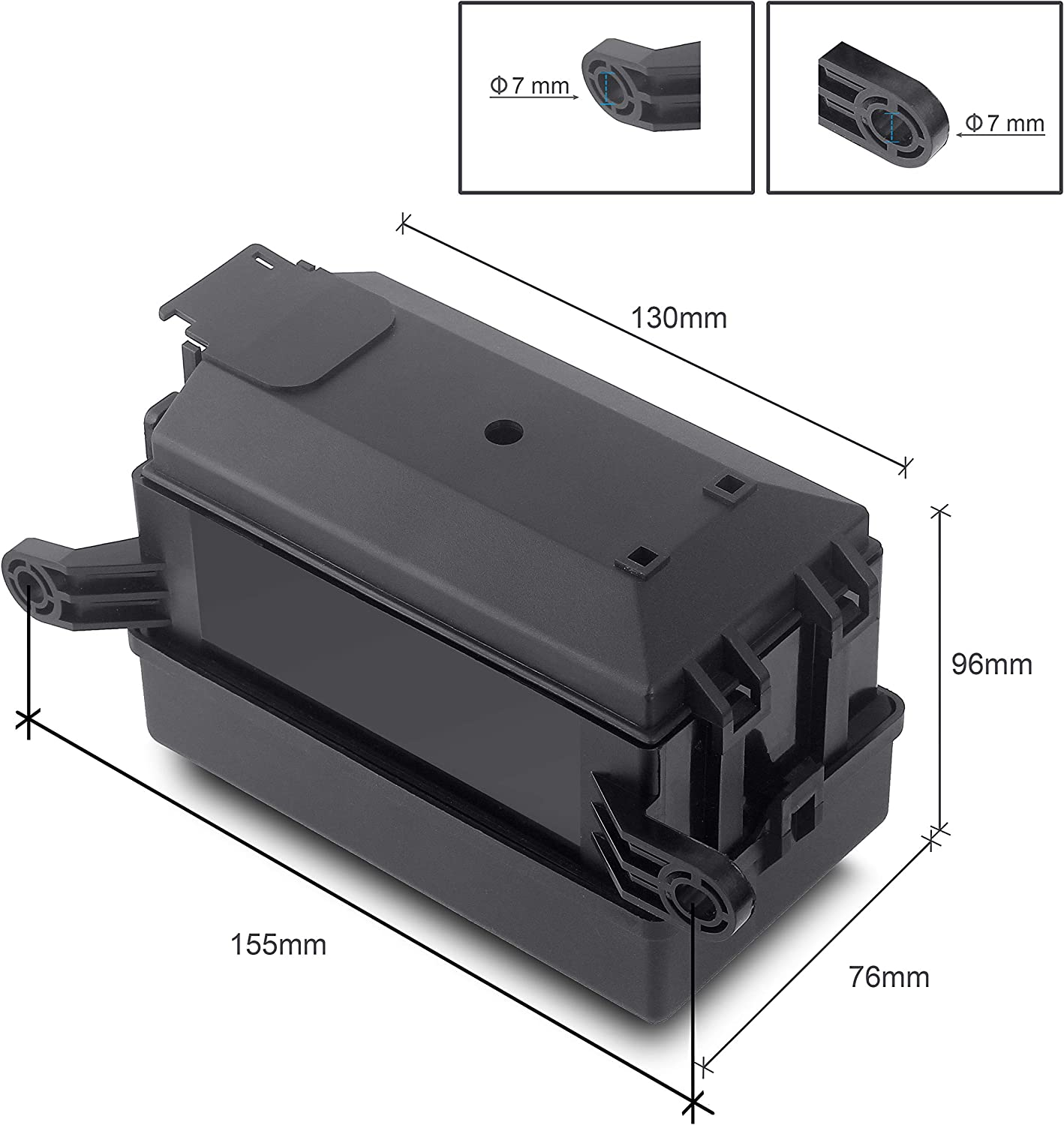 Replacement Parts with transparent 4PIN 12V 40A relay and RTT7121 ...