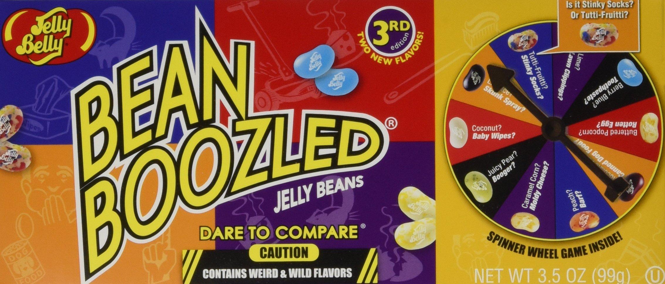 Jelly Belly BeanBoozled Spinner Gift Set 3.5 oz 4 Pack