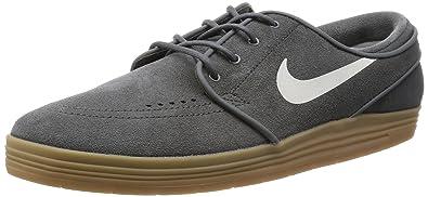 finest selection 0cd6b 3b14c Nike SB Lunar Stefan Janoski River Rock Gum Light Brown Sail Skate Shoes-
