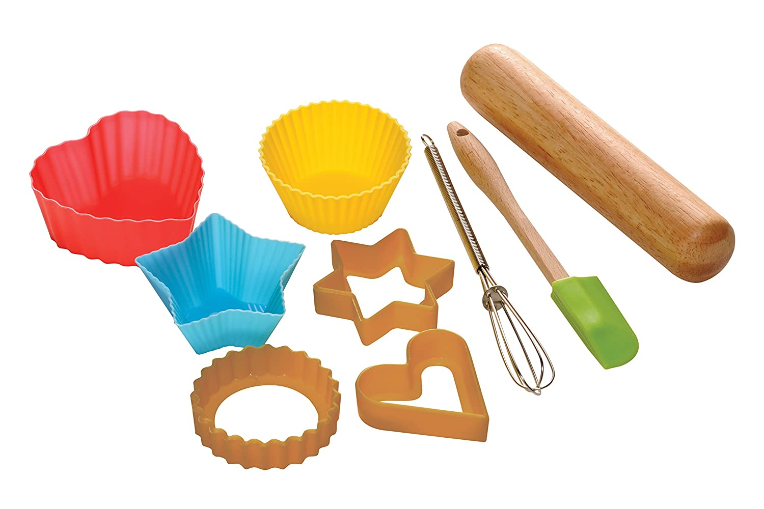 Premier Housewares Children's Baking Set, 9-Pieces 0805165