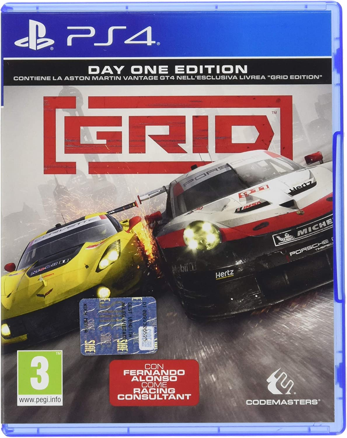 Grid Standard Edition - PlayStation 4 [Importación italiana ...